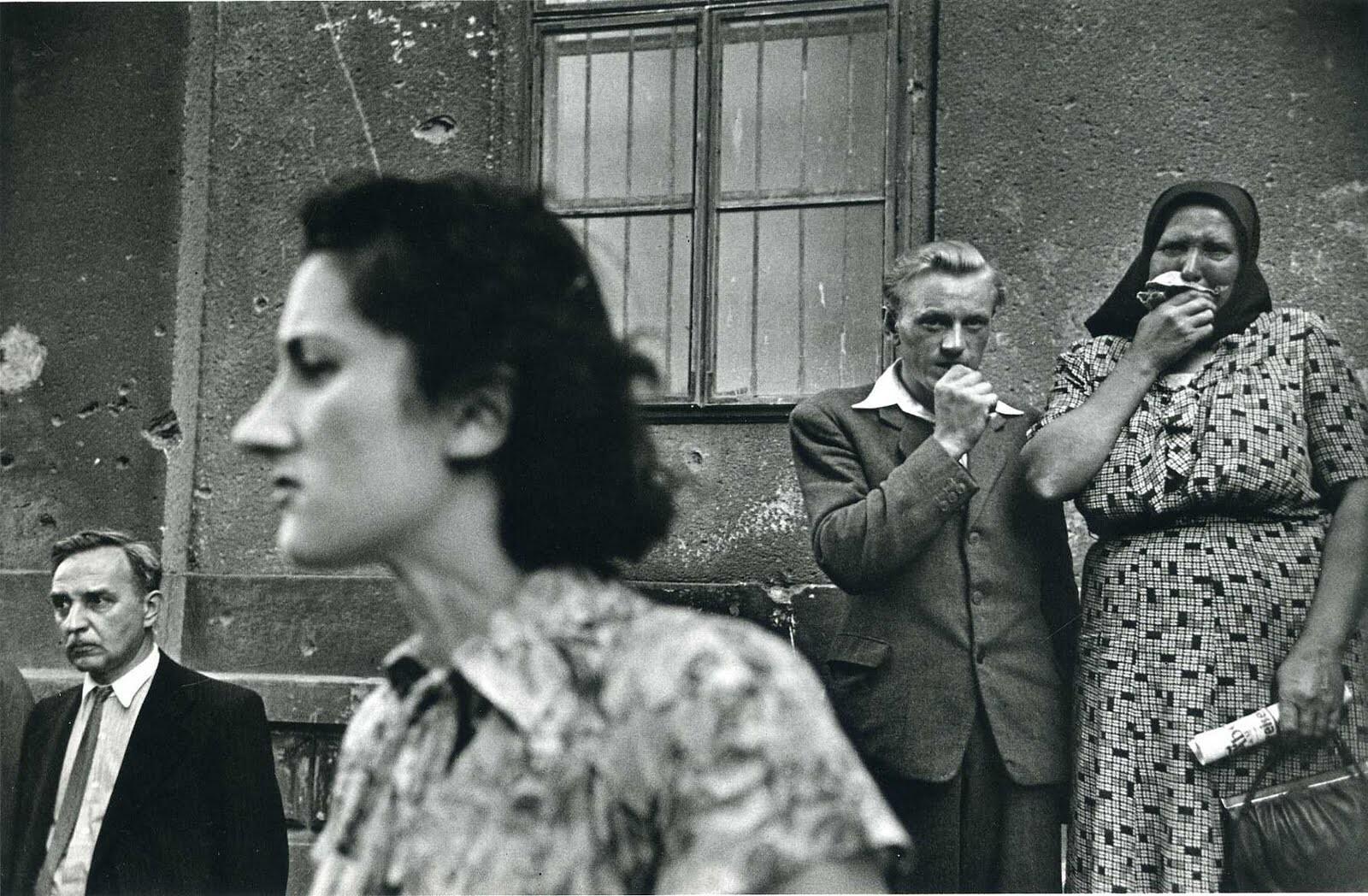 Возвращение военнопленных, Вена, 1946 – 1948. Фотограф Эрнст Хаас
