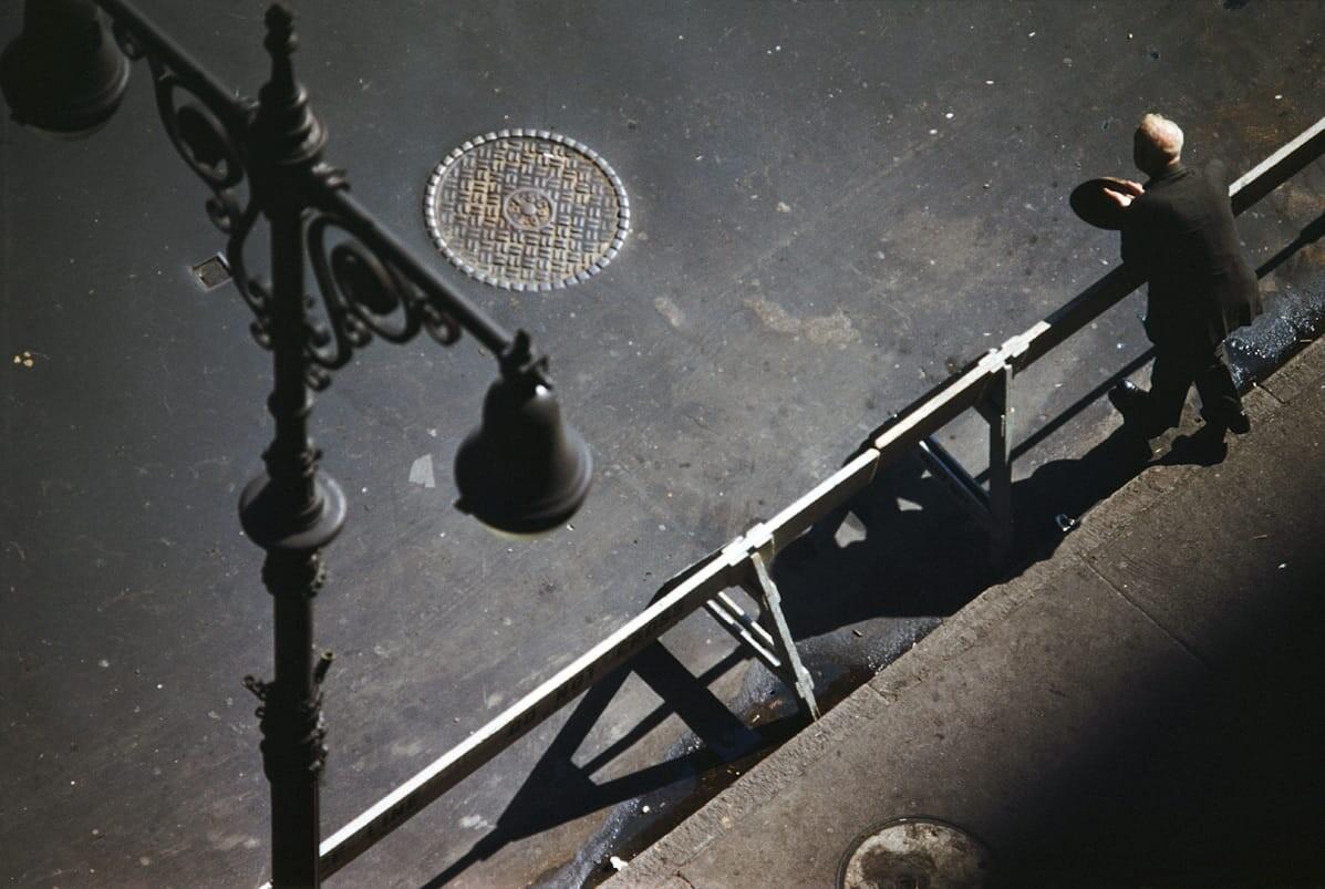 Нью-Йорк, 1953. Фотограф Эрнст Хаас