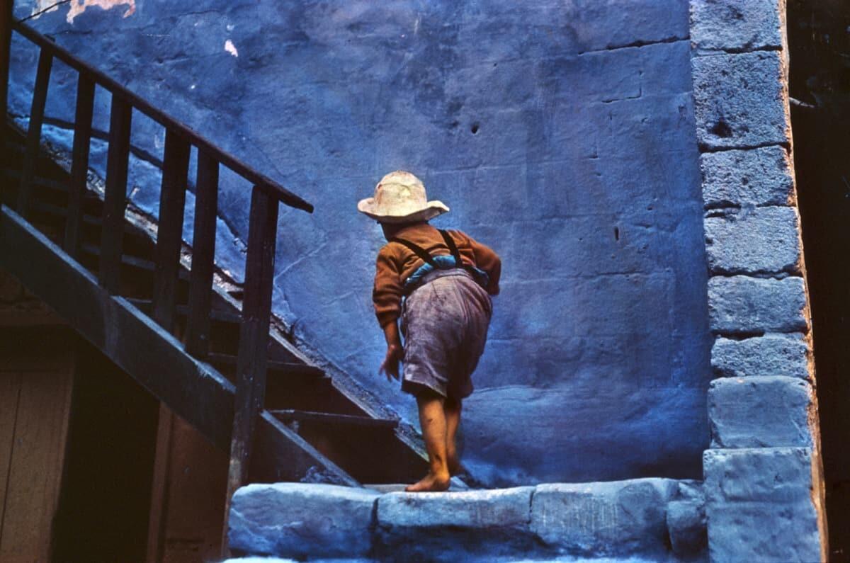 Родос, Греция, 1960. Фотограф Эрнст Хаас