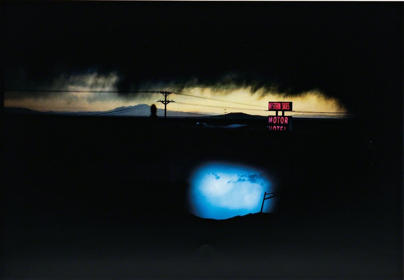 Western Skies Motel, Нью-Мексико, 1978. Фотограф Эрнст Хаас