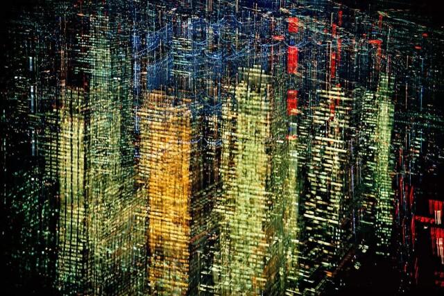 Огни Нью-Йорка, 1972. Фотограф Эрнст Хаас