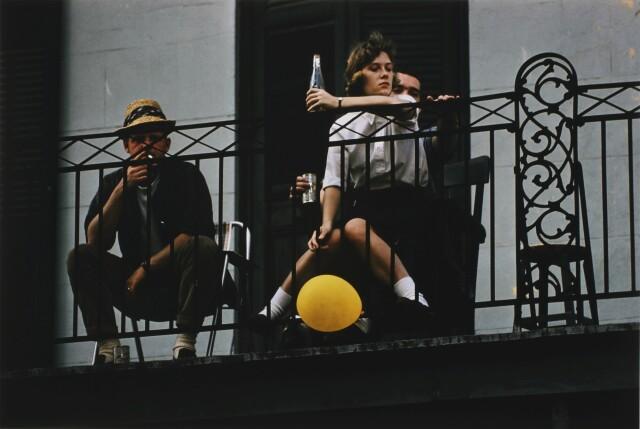 Новый Орлеан, 1960. Фотограф Эрнст Хаас