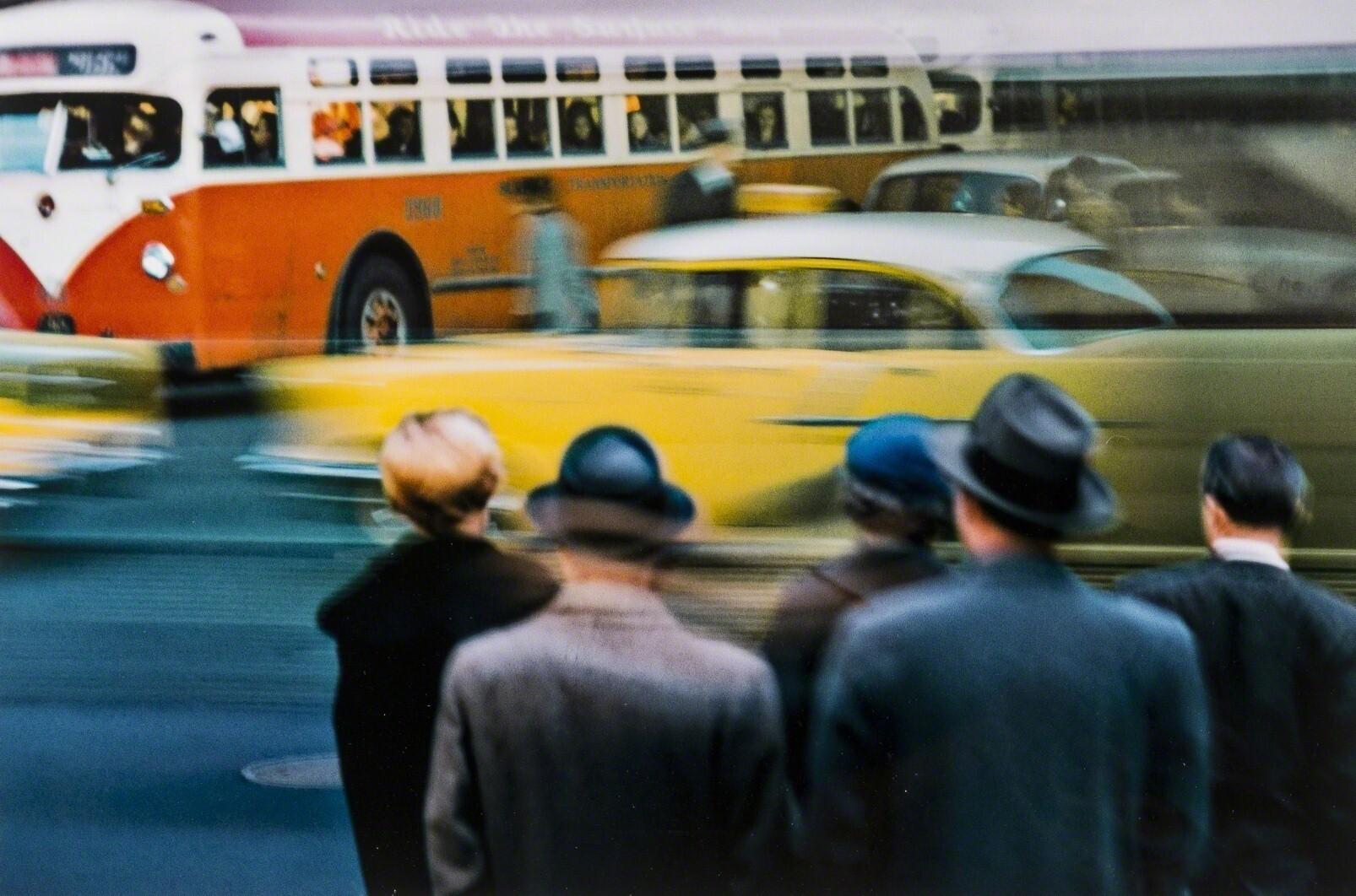 Нью-Йорк, 1952. Фотограф Эрнст Хаас