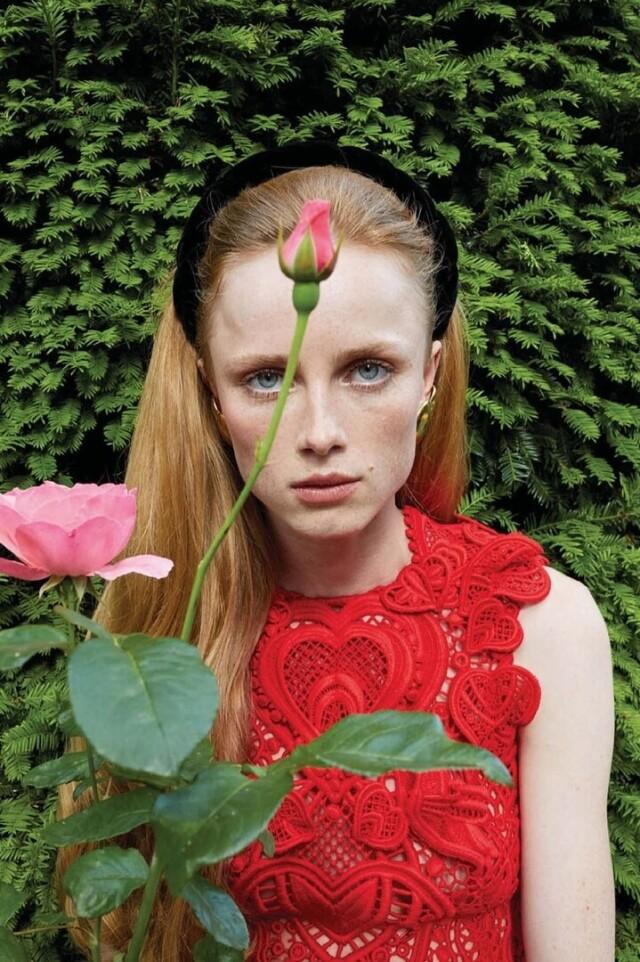 Рианн ван Ромпей для Vogue Париж, сентябрь 2020 года. Фотограф Юрген Теллер