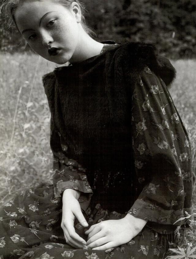Vogue Россия, октябрь 1998 год. Фотограф Юрген Теллер