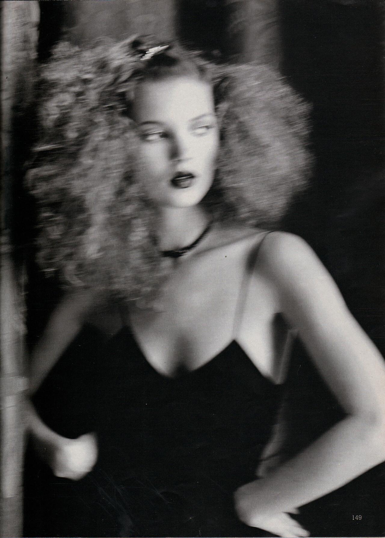 Marie Claire, Германия, август 1994 года. Фотограф Юрген Теллер