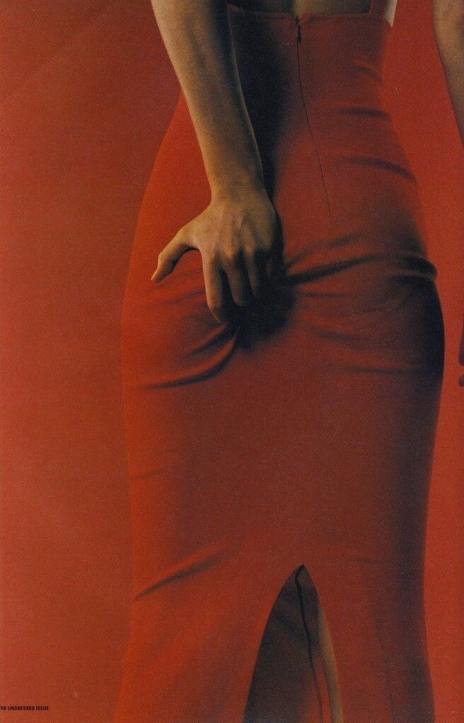 I-D magazine, 1996 год. Фотограф Юрген Теллер