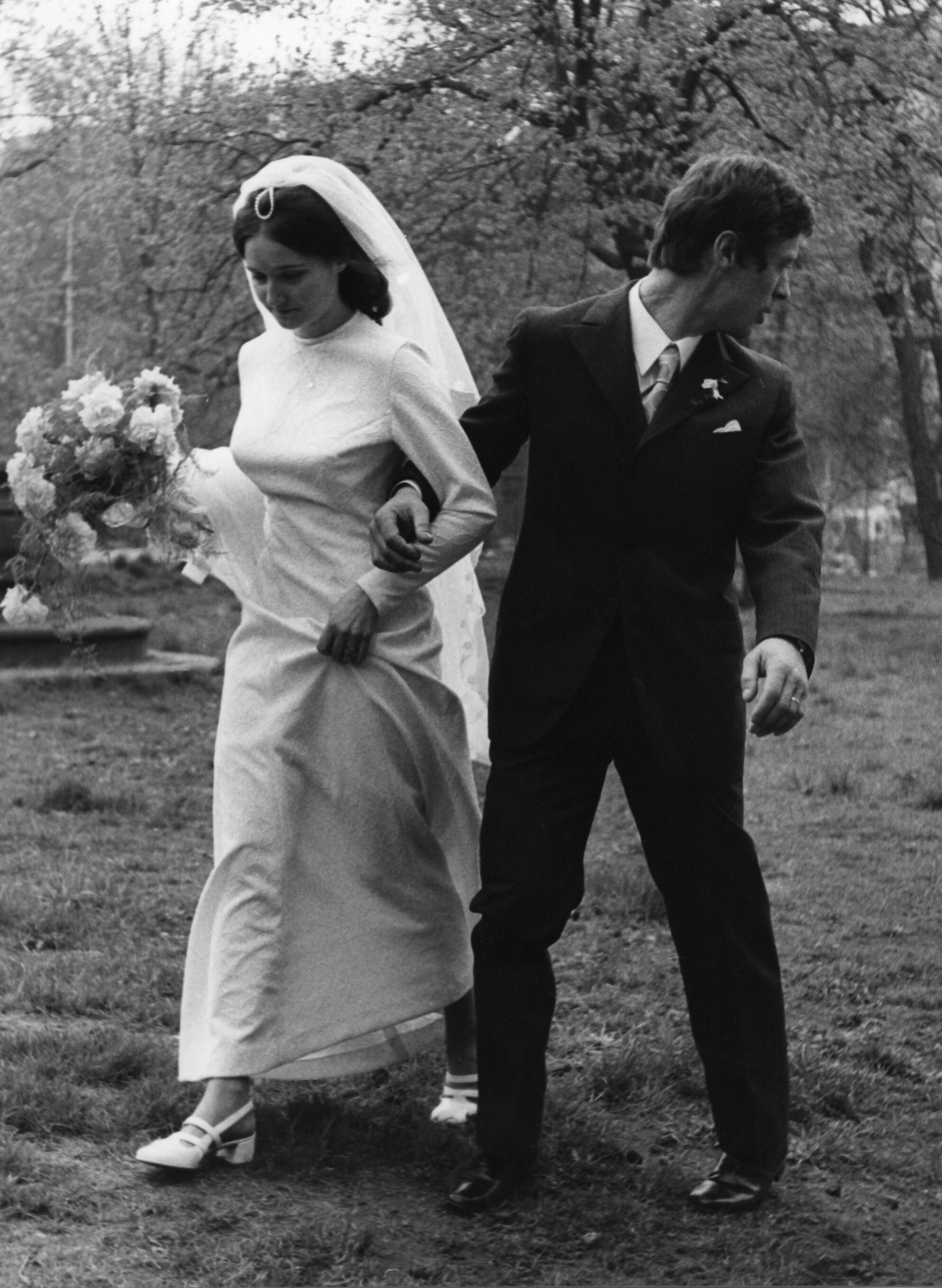 Свадебная съёмка, 1968. Фотограф Франтишек Досталь