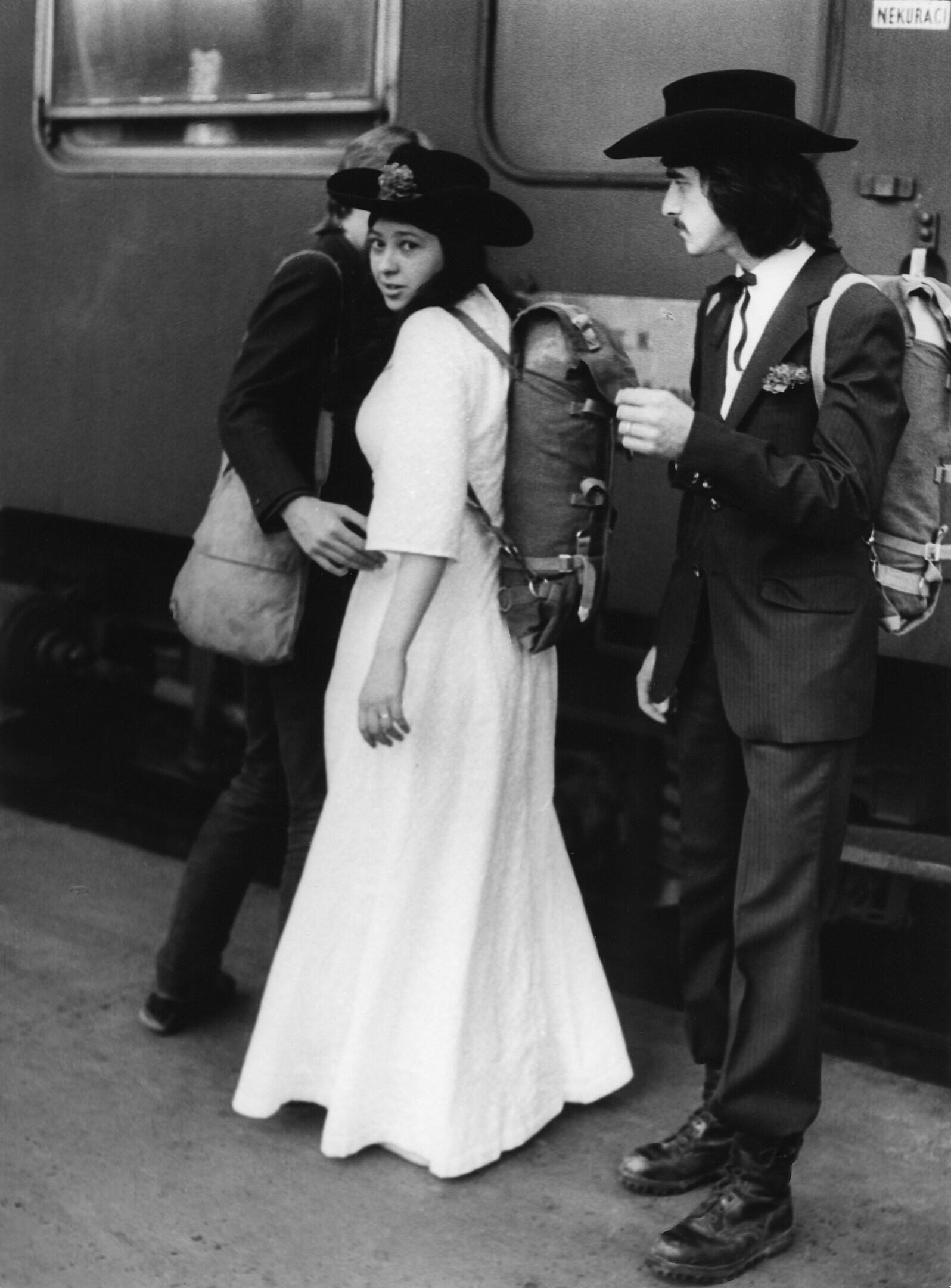 Свадьба, 1968. Фотограф Франтишек Досталь