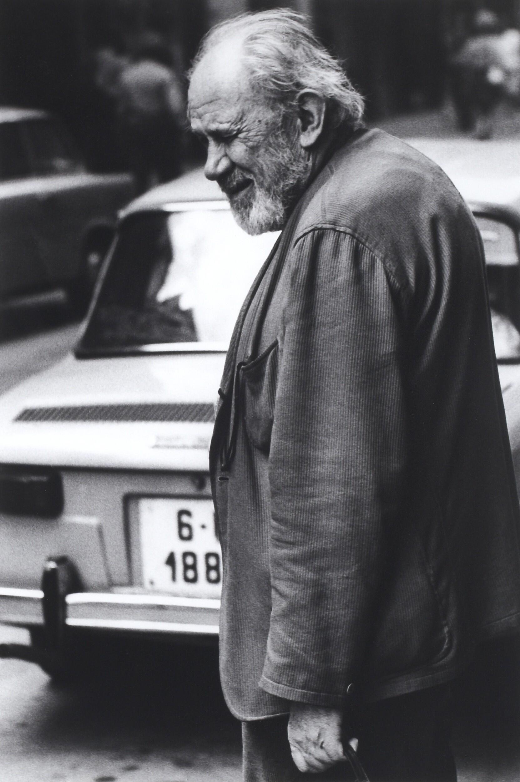 Йозеф Судек, 1972. Фотограф Франтишек Досталь