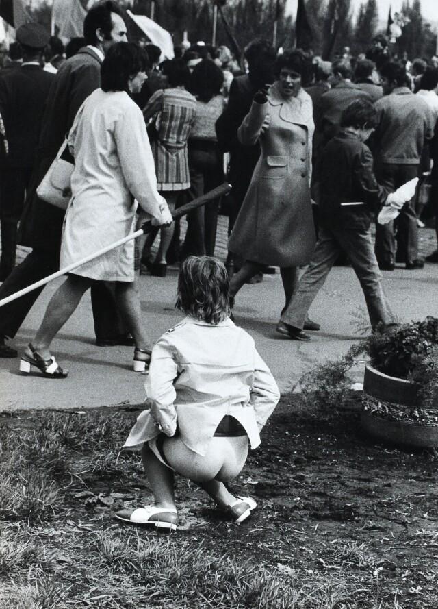 Майский день, 1980. Фотограф Франтишек Досталь