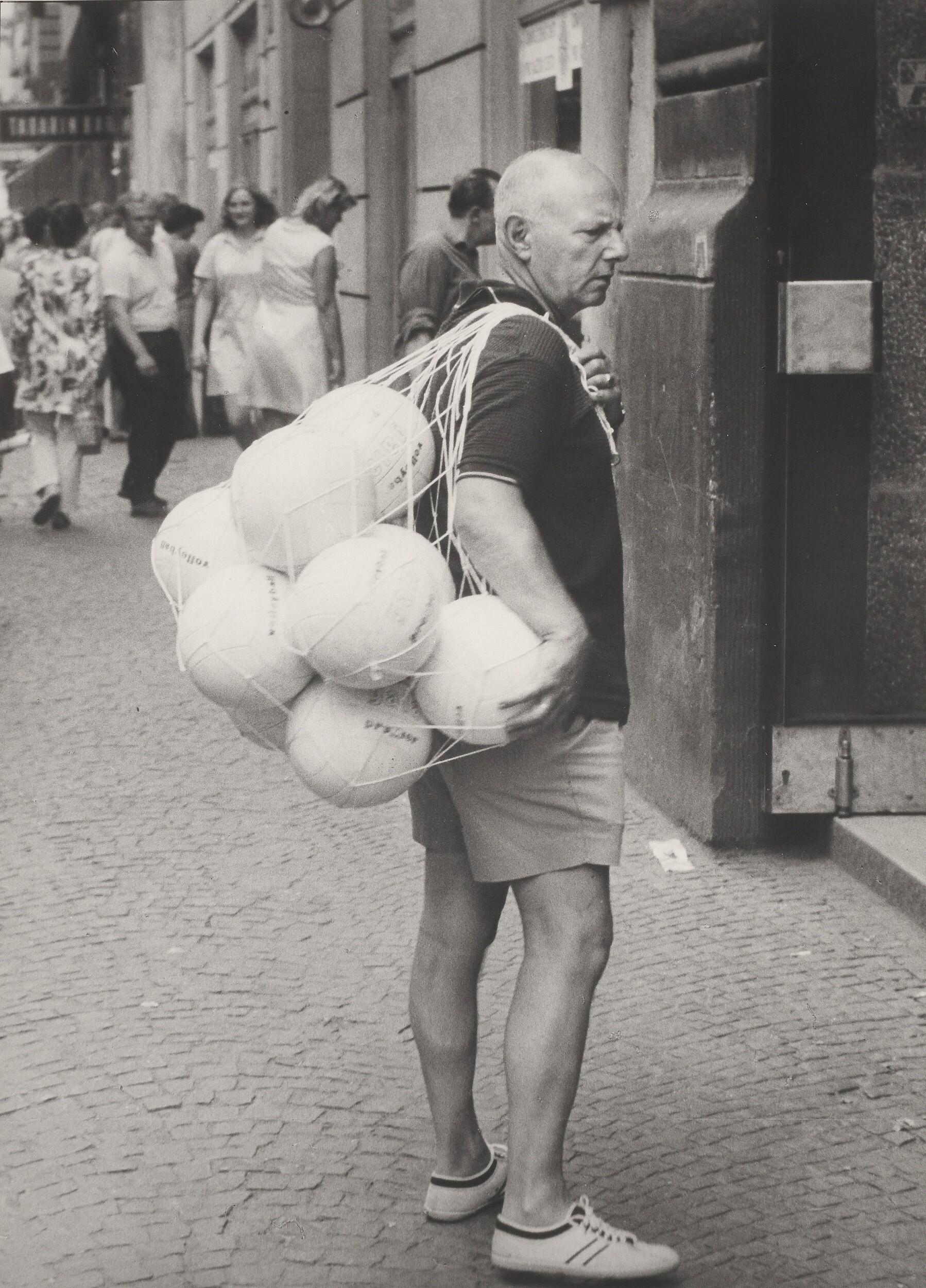 Мячи, 1984. Фотограф Франтишек Досталь
