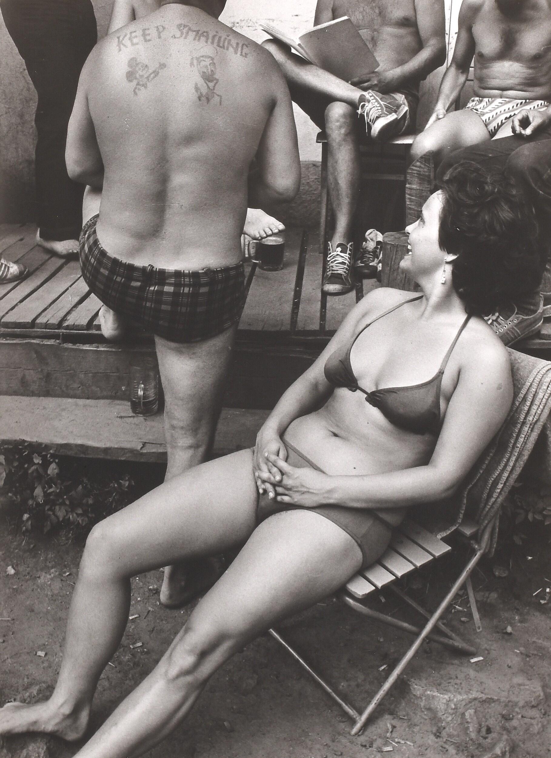 Из цикла «Летние люди», 1968 – 1990. Фотограф Франтишек Досталь