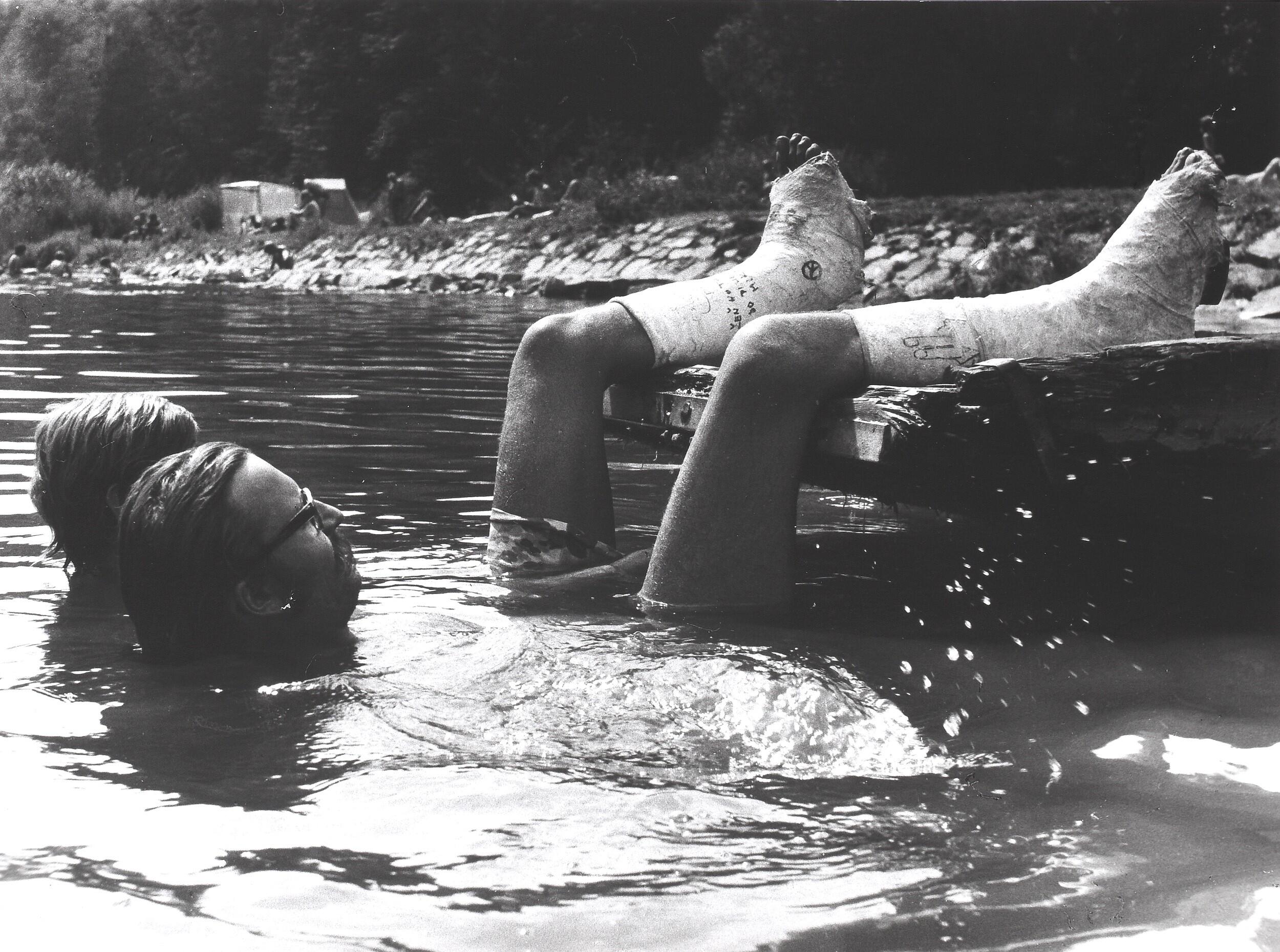 Из цикла «Летние люди», 1968. Фотограф Франтишек Досталь