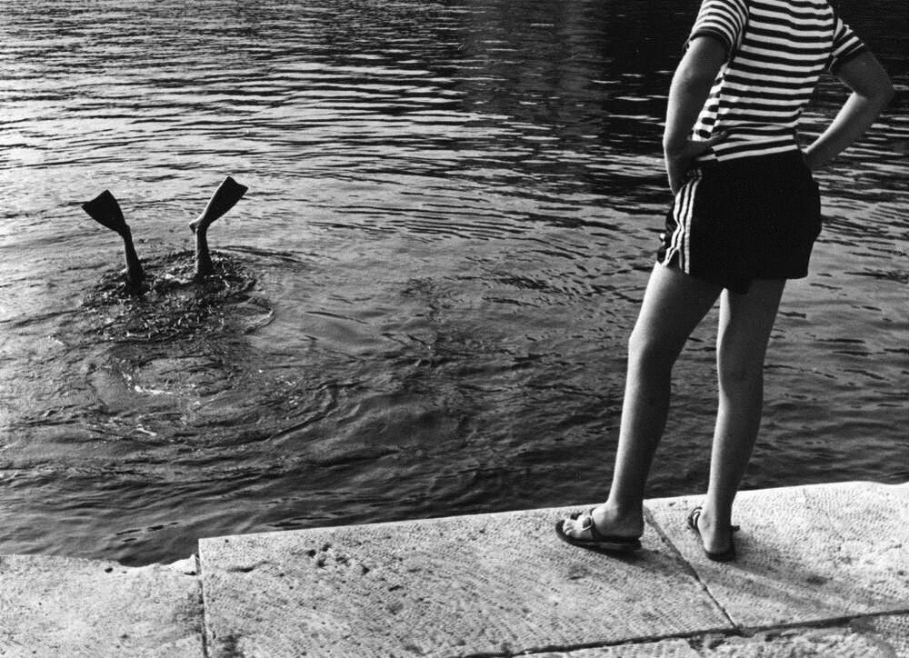 Зритель, 1980. Фотограф Франтишек Досталь