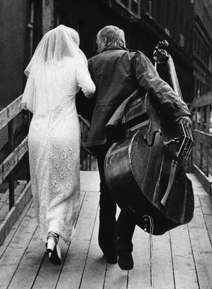 День свадьбы, 1970. Фотограф Франтишек Досталь