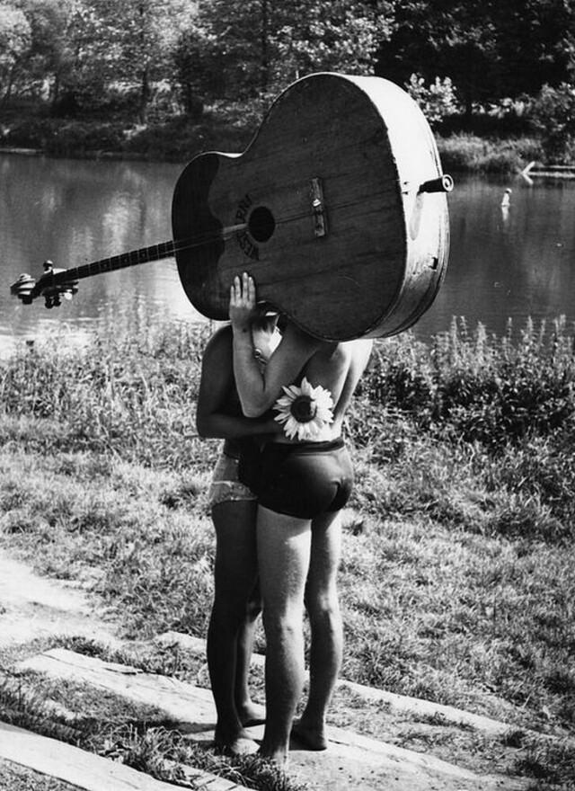 Летняя любовь. Фотограф Франтишек Досталь
