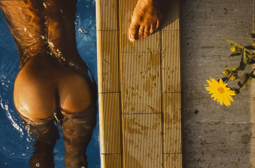 Бассейн, 1980-е. Фотограф Франко Фонтана