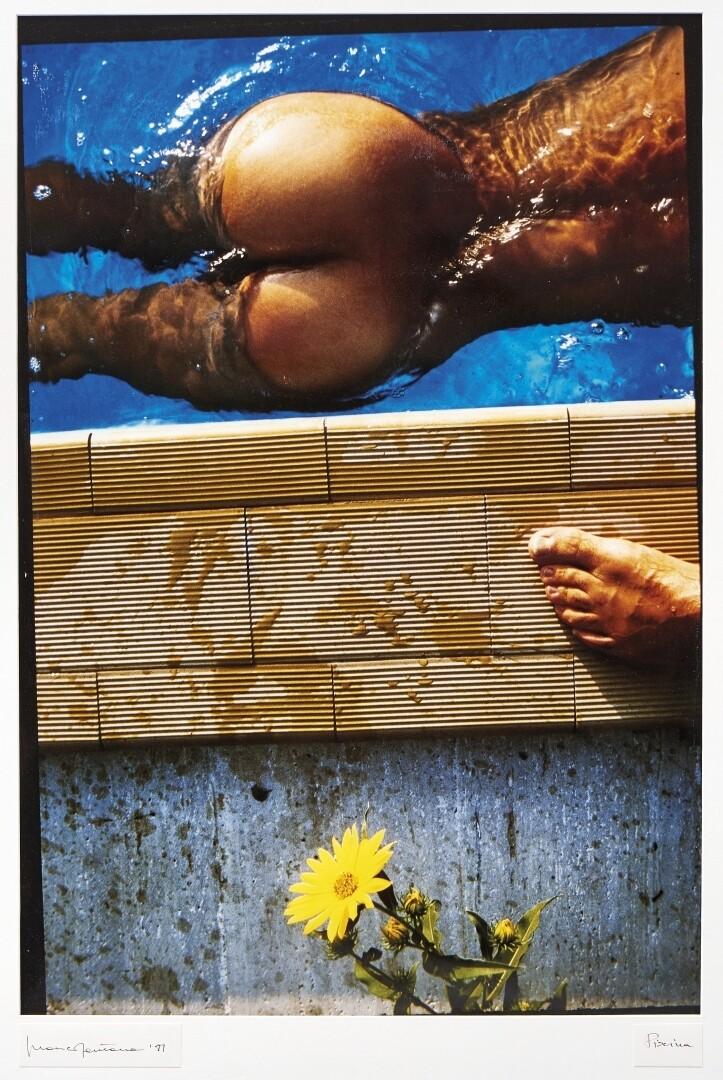 Бассейн, 1981. Фотограф Франко Фонтана