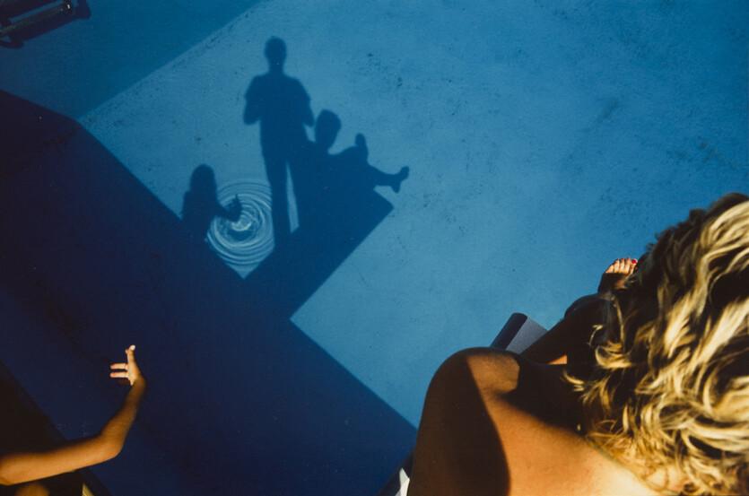 Бассейн, 1984. Фотограф Франко Фонтана