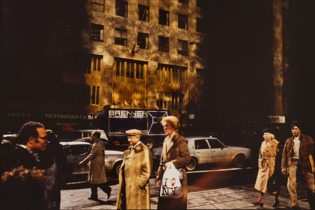 Нью-Йорк, 1986. Фотограф Франко Фонтана