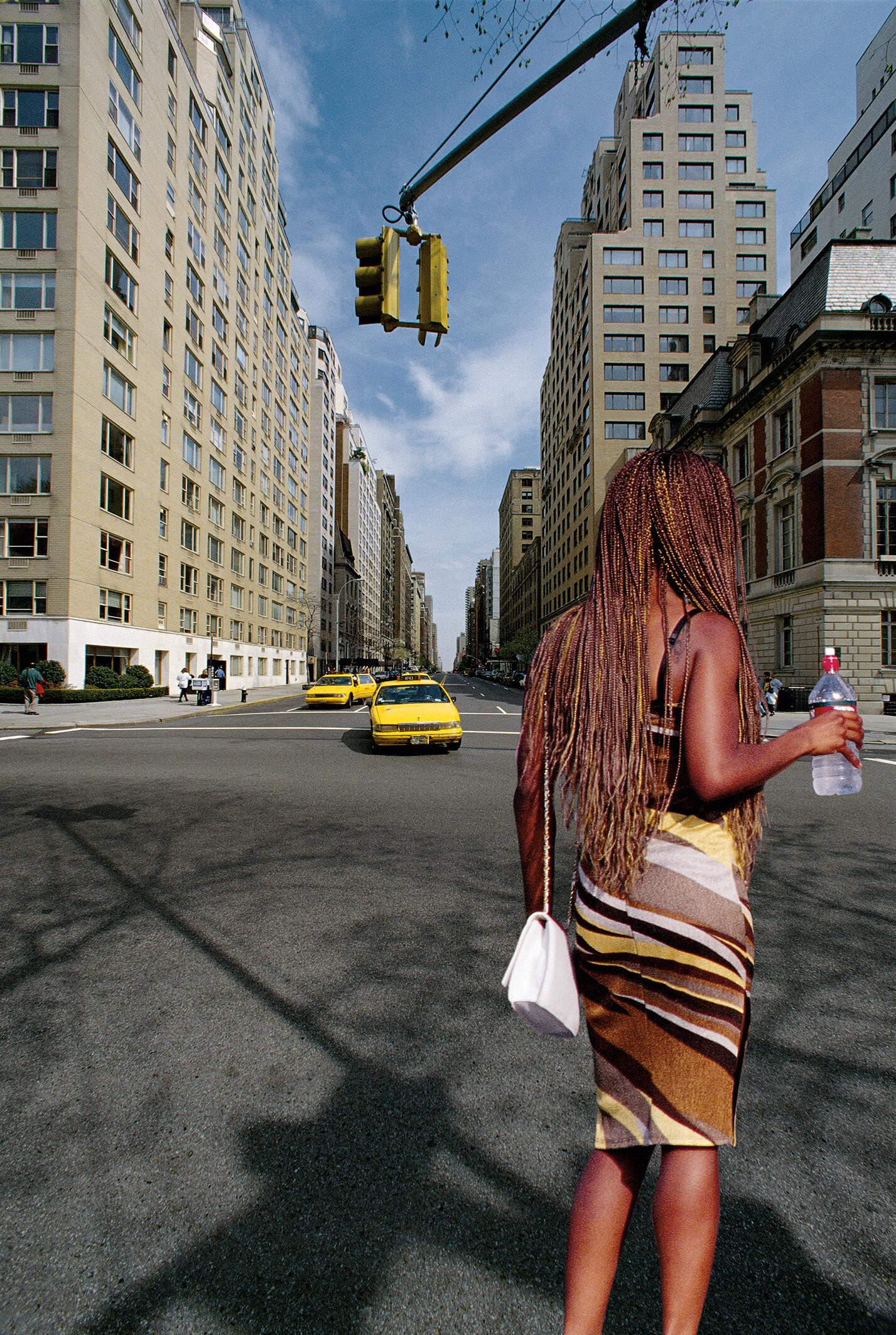 Нью-Йорк, 2001. Фотограф Франко Фонтана