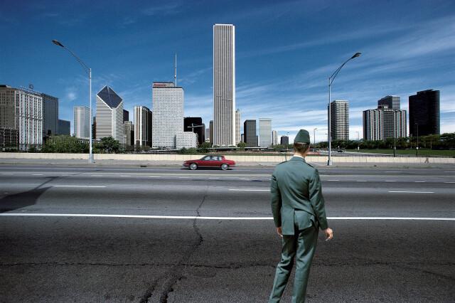 Чикаго, 2001. Фотограф Франко Фонтана