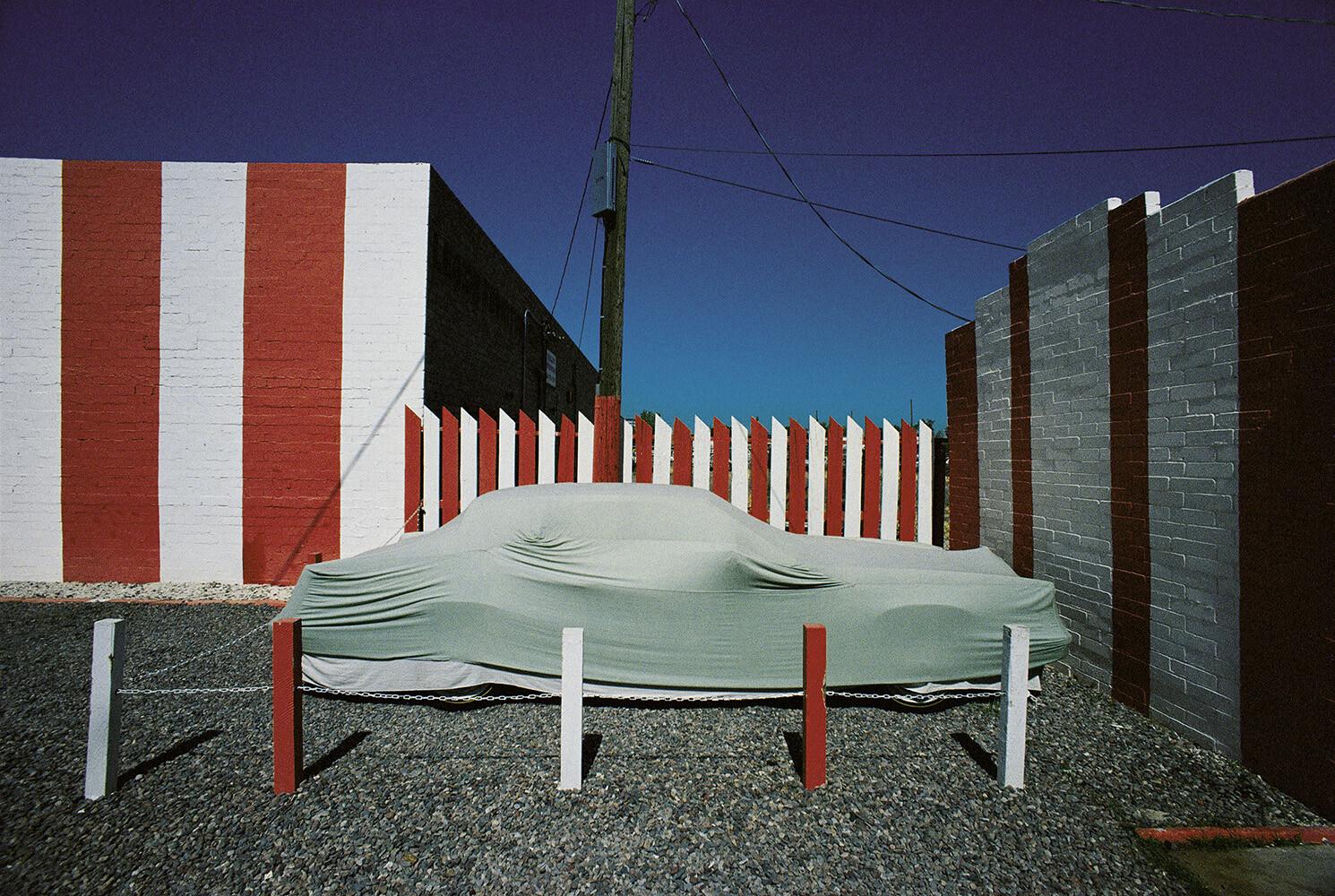 Аризона, Феникс, 1979. Фотограф Франко Фонтана