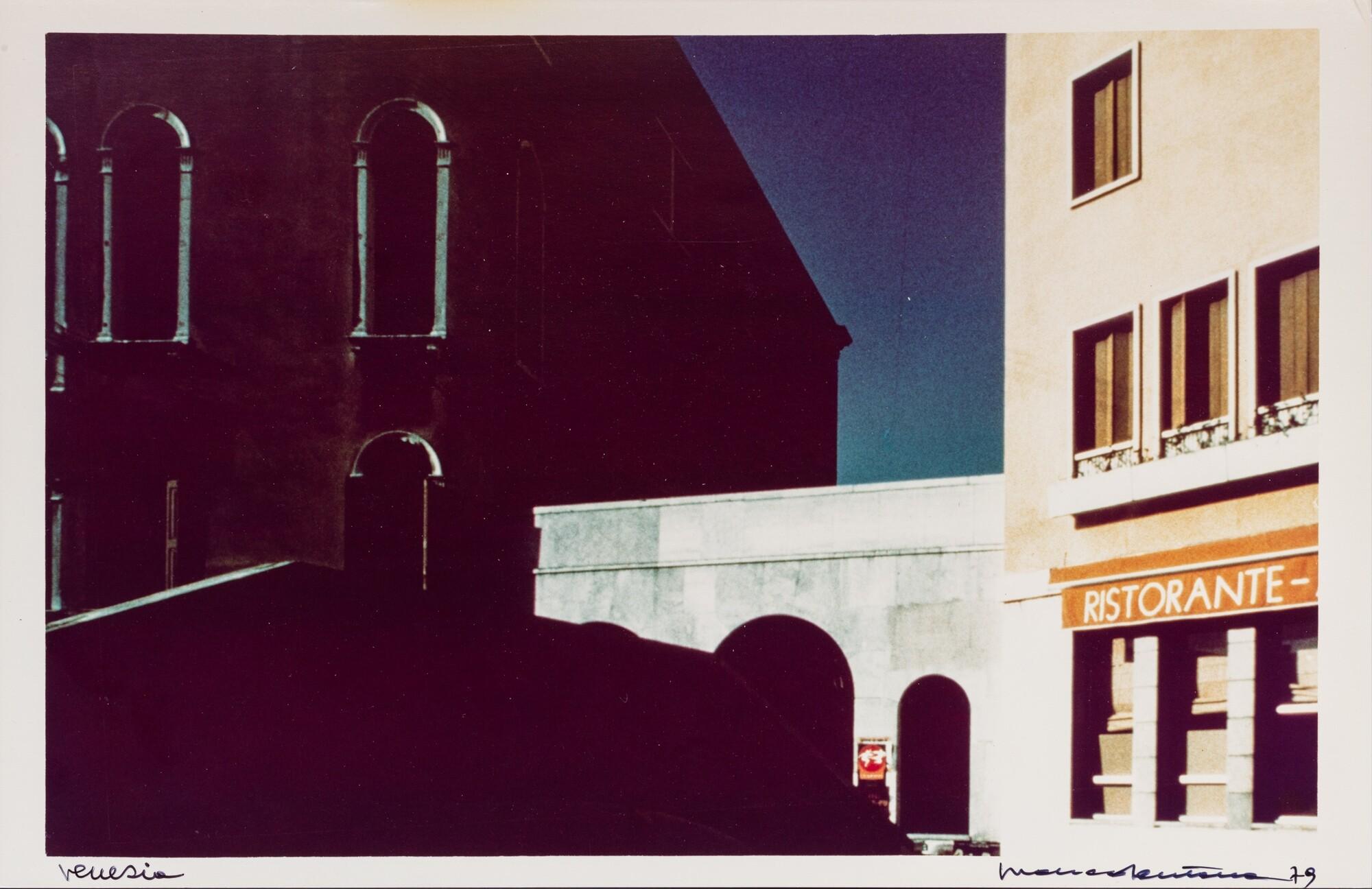 Венеция, 1979. Фотограф Франко Фонтана