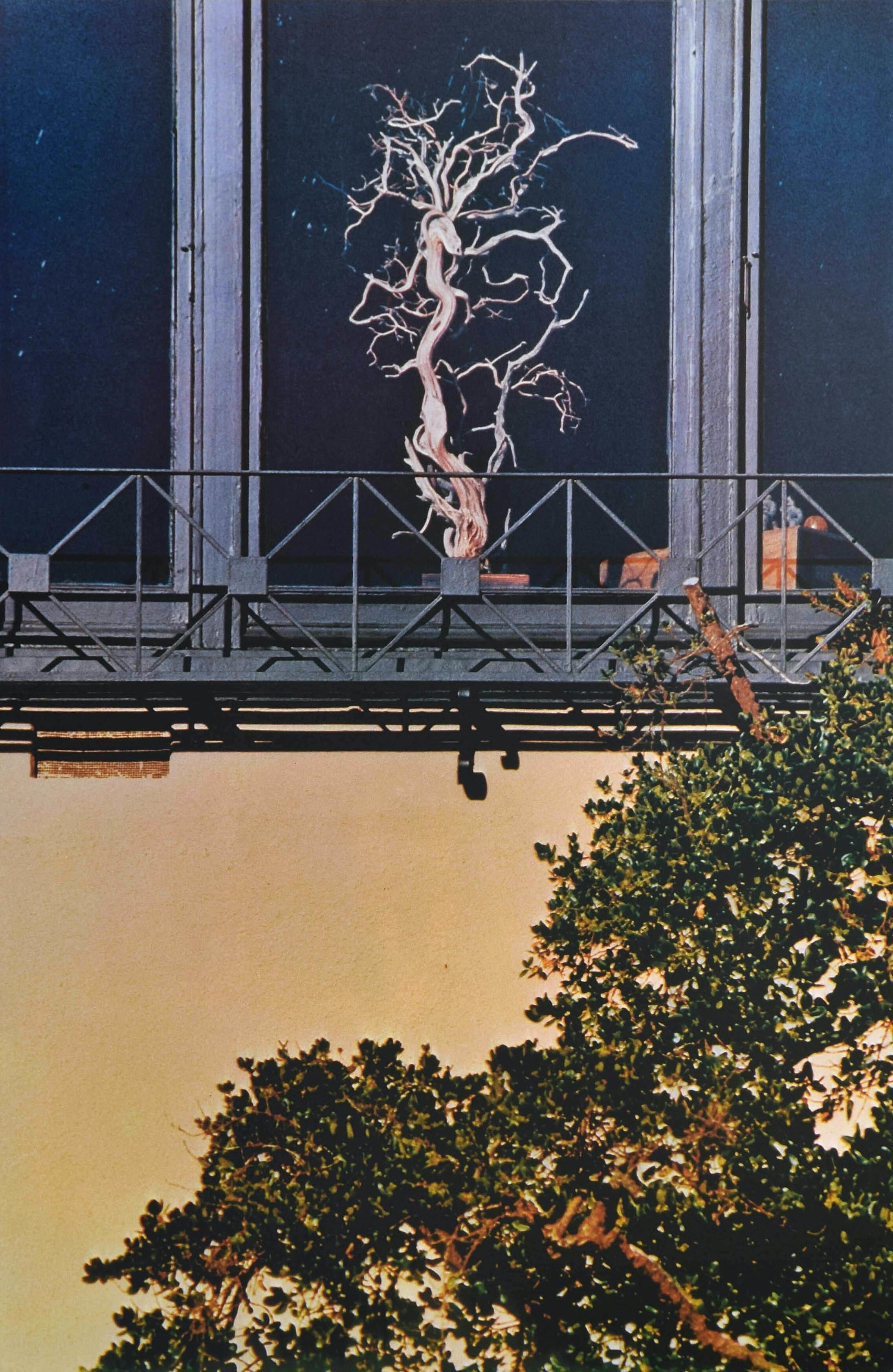 Городской пейзаж, 1980-е. Фотограф Франко Фонтана