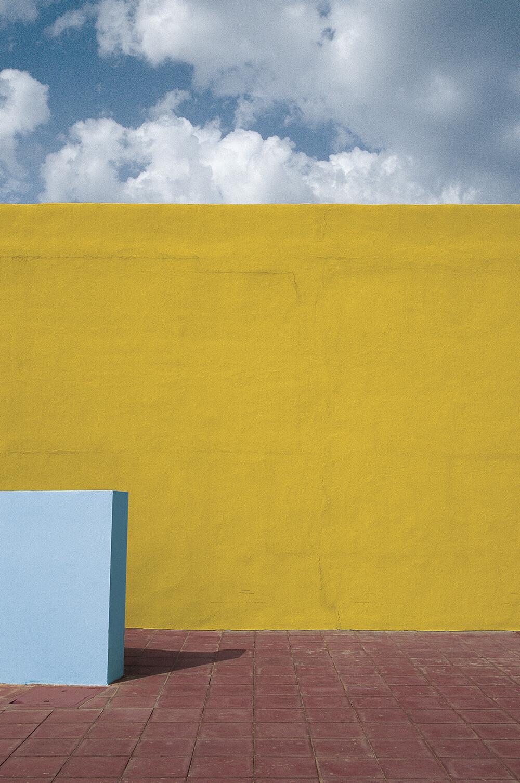 Ибица, 1992. Фотограф Франко Фонтана