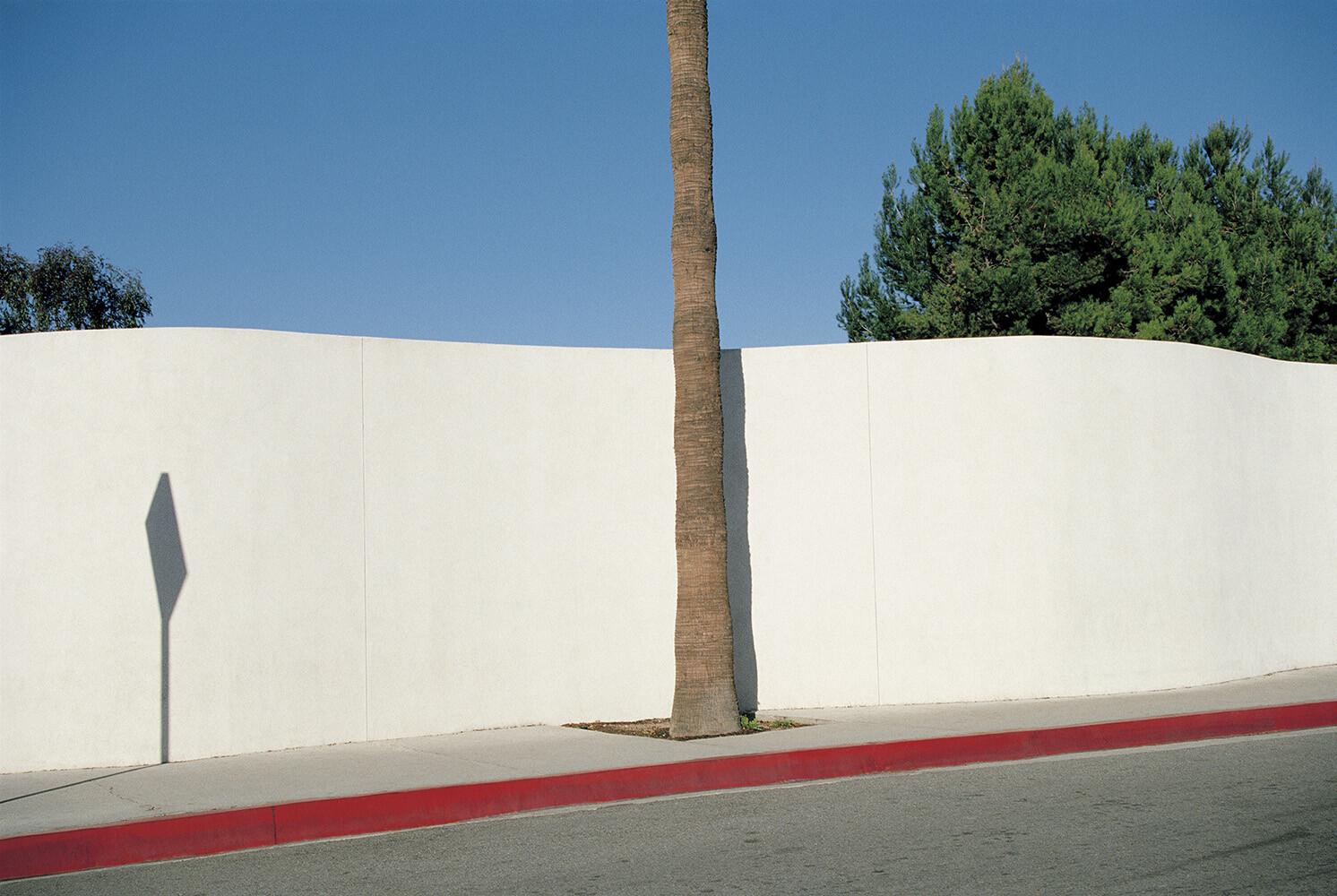 Лос-Анджелес, 1990. Фотограф Франко Фонтана
