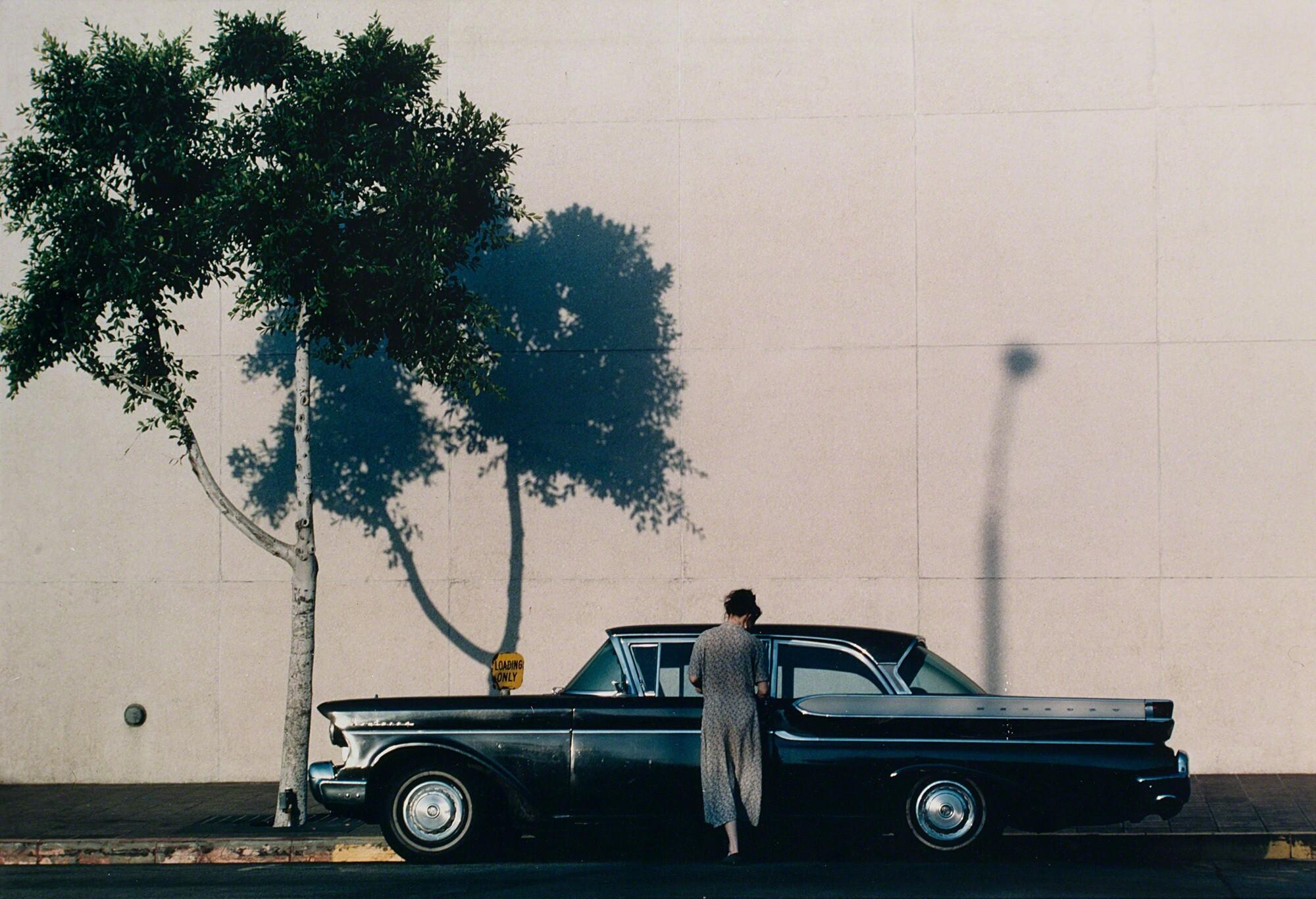 Лос-Анджелес, 1991. Фотограф Франко Фонтана
