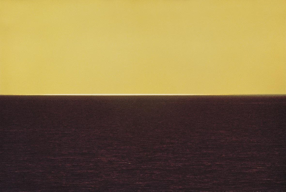 Морской пейзаж, Ибица, 1972. Фотограф Франко Фонтана