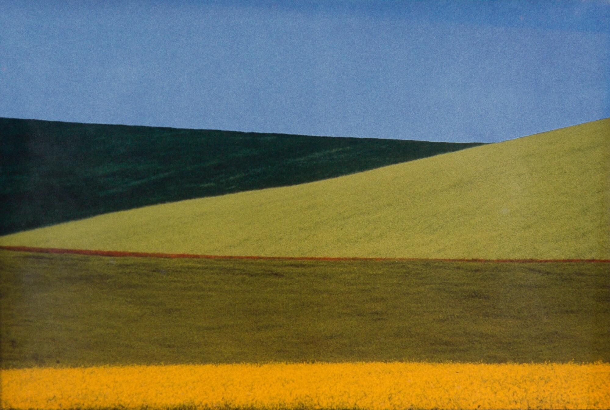 Пейзаж, 1978. Фотограф Франко Фонтана