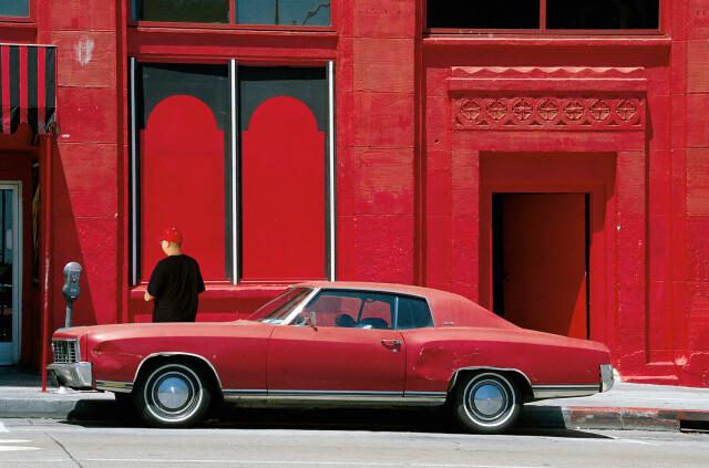 Лос-Анджелес, 2001. Фотограф Франко Фонтана