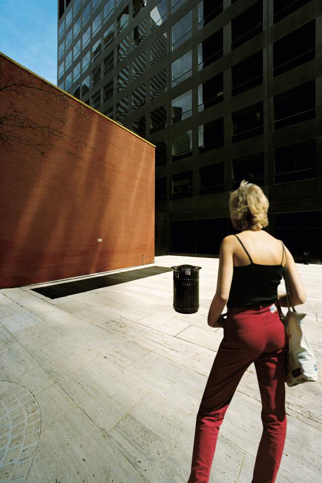 Нью-Йорк, 1997. Фотограф Франко Фонтана