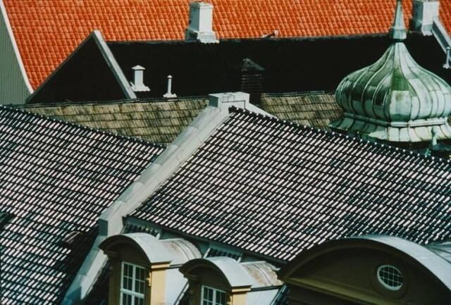 Крыши, 1977. Фотограф Франко Фонтана