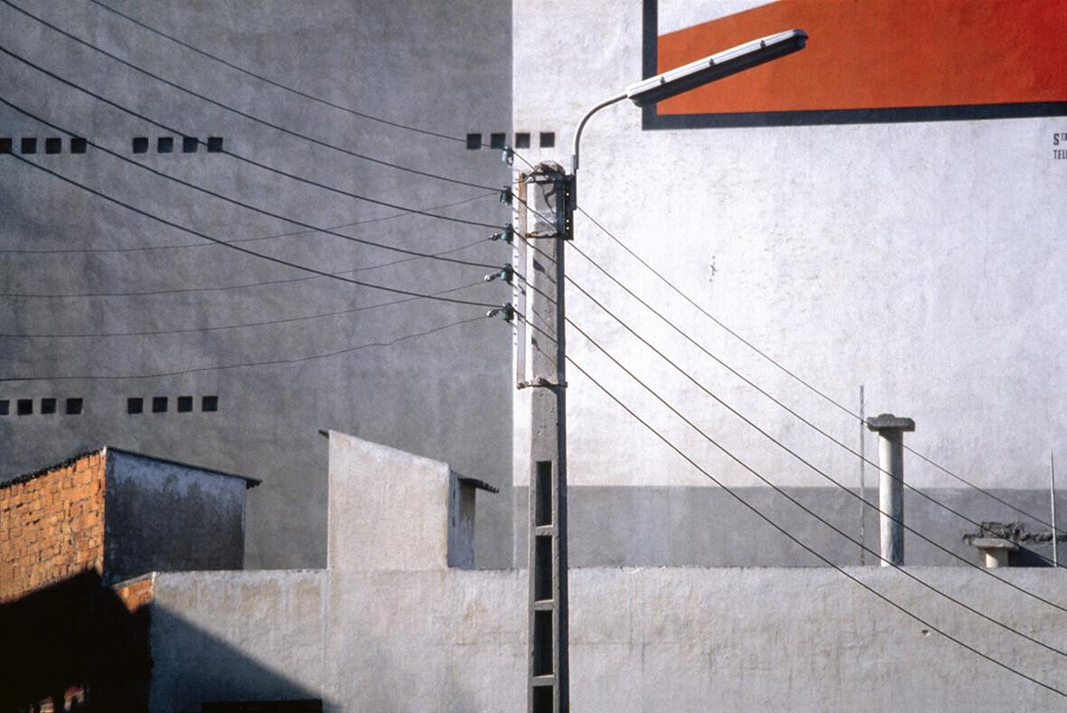 Рабат, 1981. Фотограф Франко Фонтана