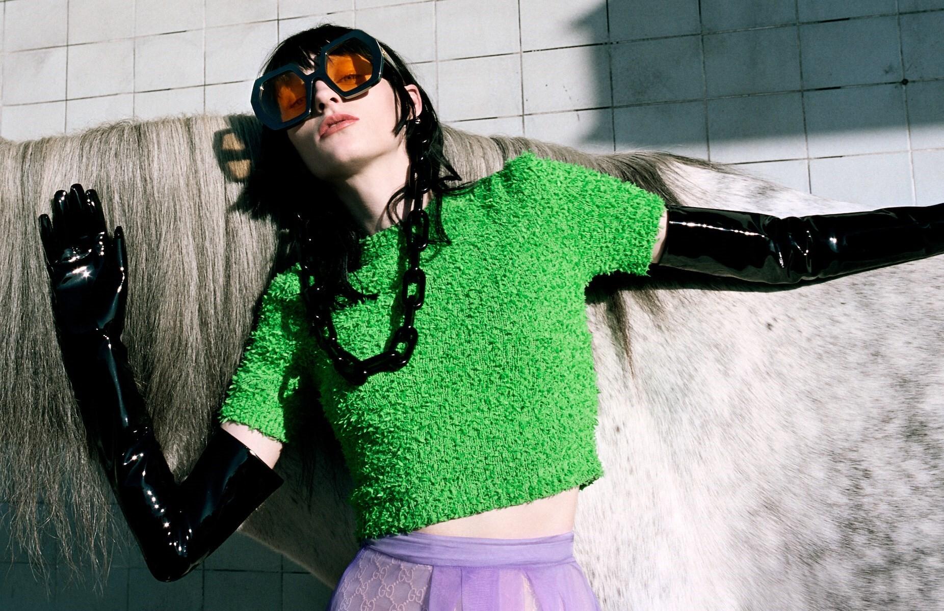 Gucci, рекламная кампания весна-лето 2020 года. Фотограф Йоргос Лантимос
