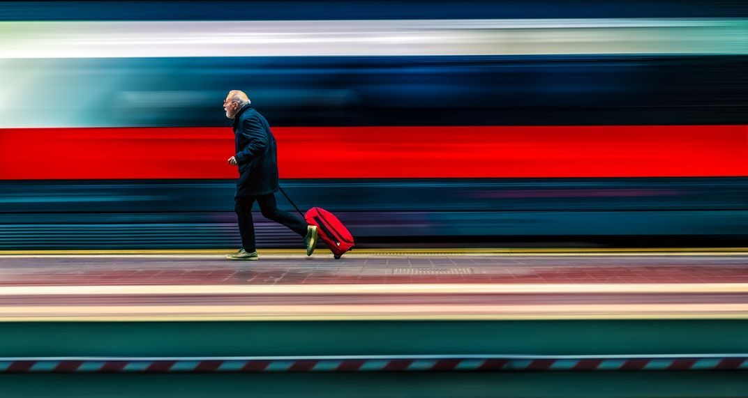 Финалист в категории «Изменённые изображения», 2020. «Красная стрела». Автор Роберто Ди Патрици