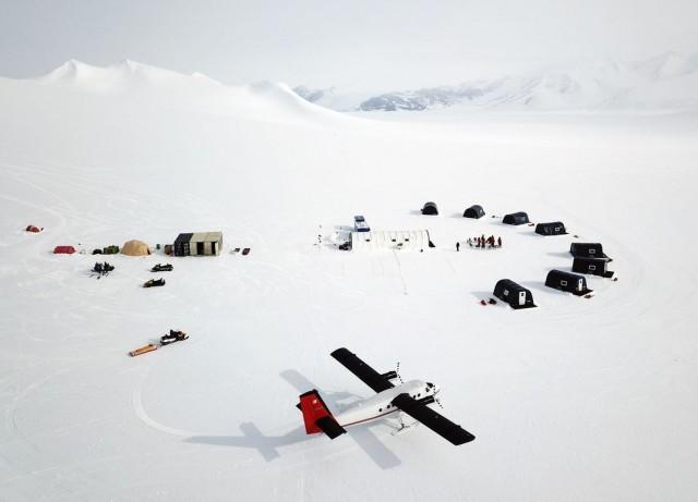 Финалист в категории «Путешествия», 2020. Палаточный лагерь в Антарктиде. Автор Кристофер Мишель