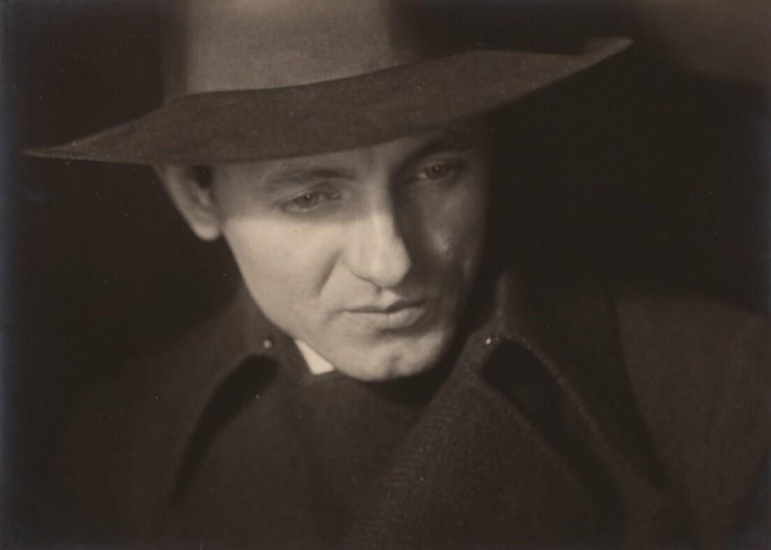Портрет мужчины, 1930 год. Фотограф Йозеф Судек