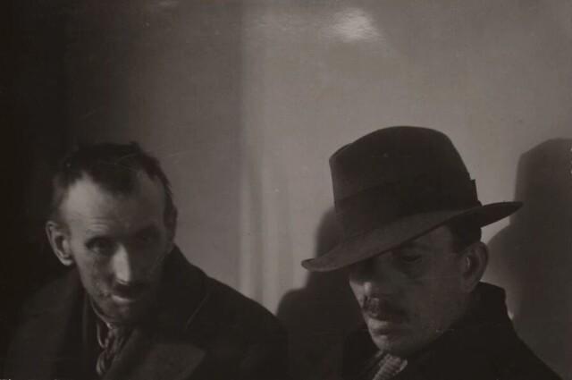 Портрет двух ветеранов войны, примерно 1922-1927 год. Фотограф Йозеф Судек