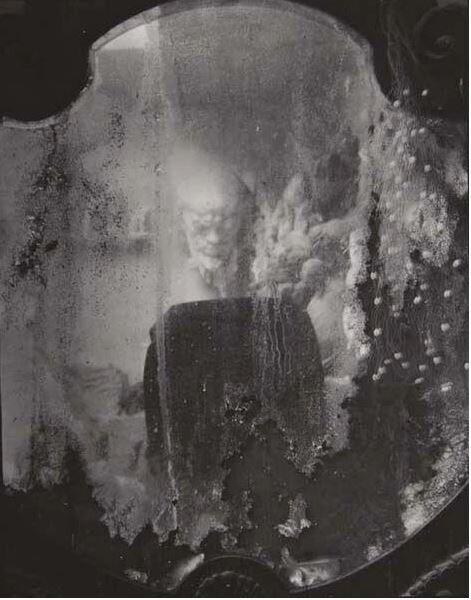 Зеркало с отражением из лабиринтов, 1948-1973 год. Фотограф Йозеф Судек