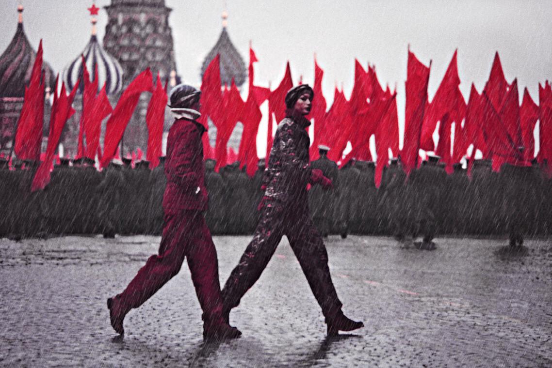 Гунилла Линдблад и Ана Андерден. Россия, 1972. Фотограф Марко Главиано