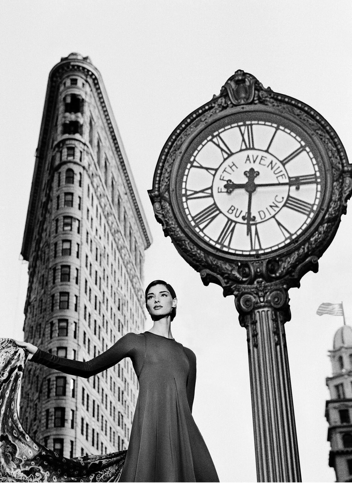 Аннализа Зойберт для Armani, Нью-Йорк, 1997. Фотограф Марко Главиано