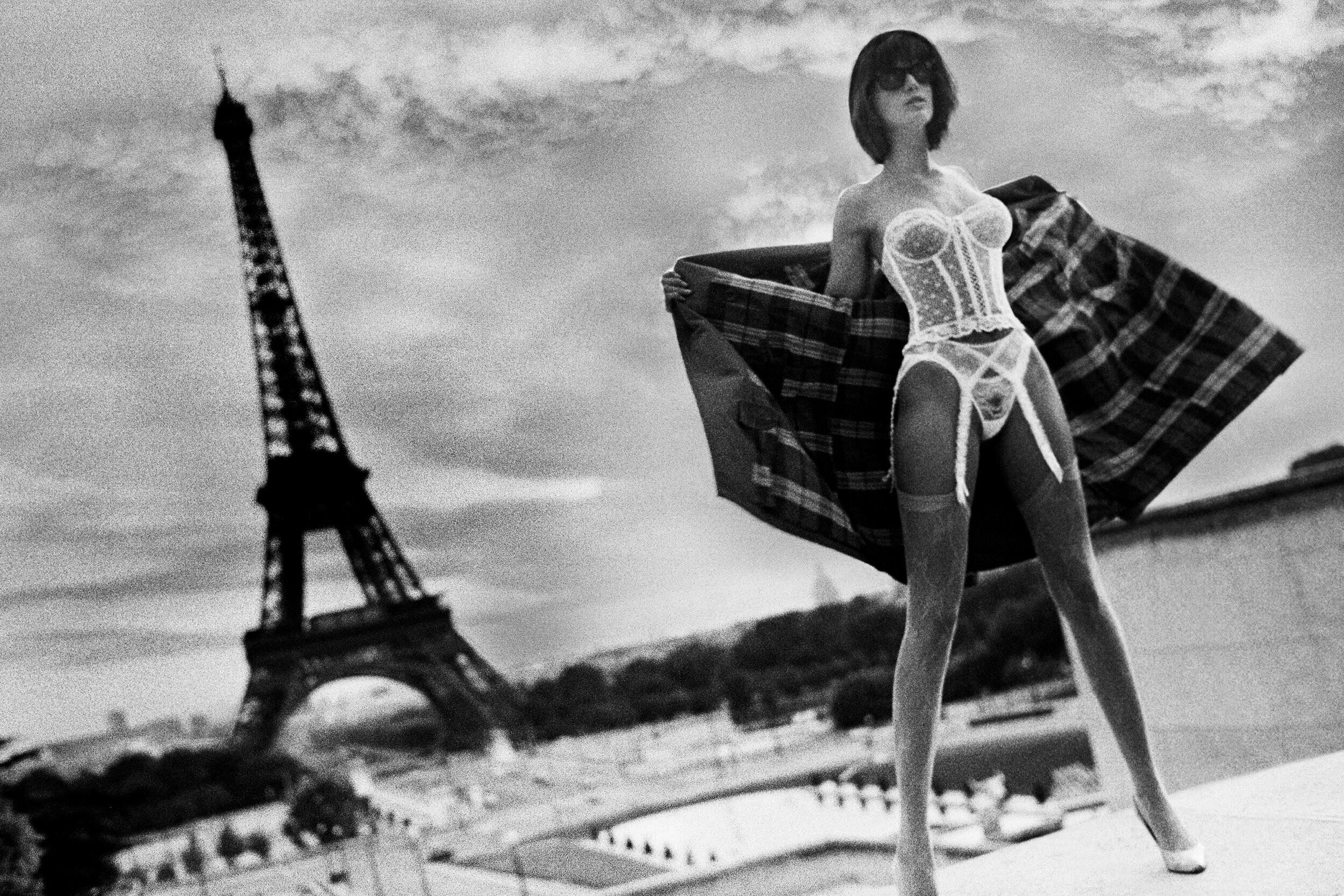 Стефани Сеймур, Париж, 1982. Фотограф Марко Главиано