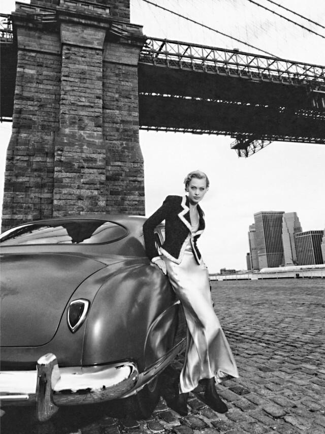 Нелли (Nelly Pakh) для Armani, Нью-Йорк, 1998. Фотограф Марко Главиано