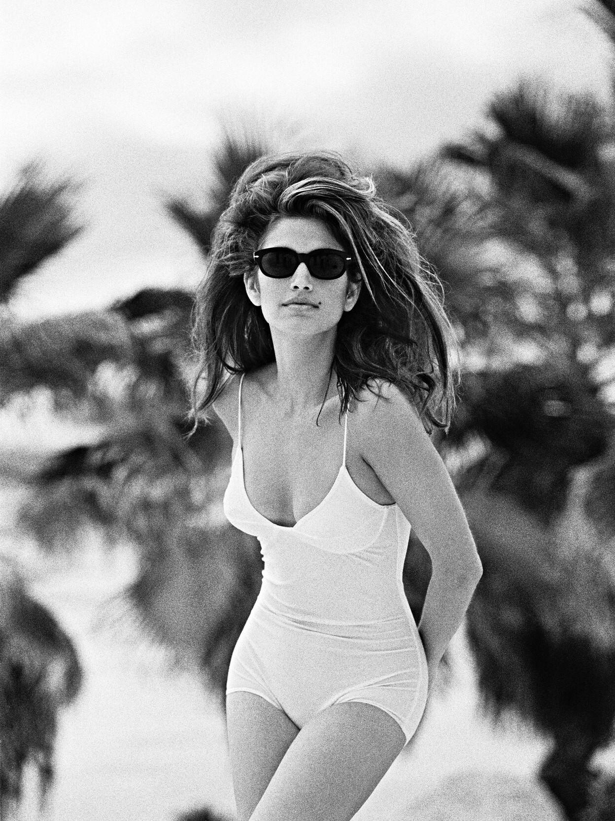 Синди Кроуфорд, 1984. Фотограф Марко Главиано